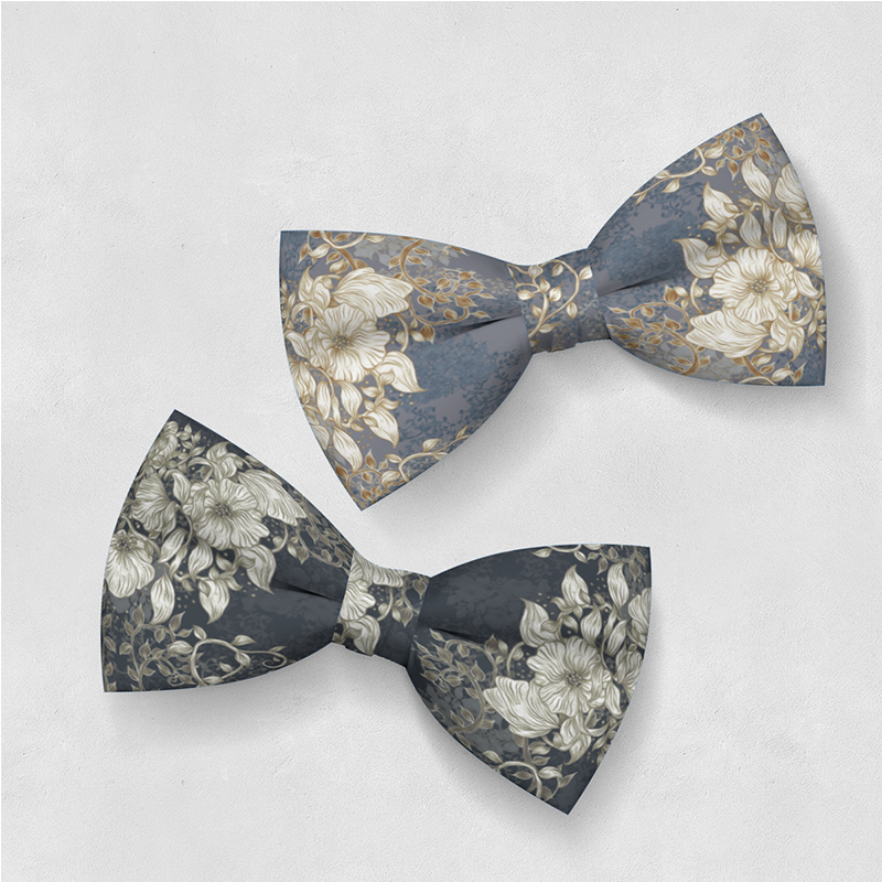 Bowties Pleasant With Flowers Erika Wallin